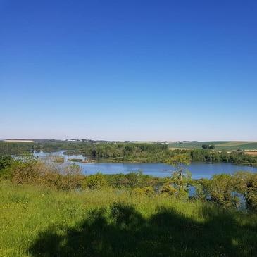 Randonnée en Moto Trail près de Beauvais en région Picardie