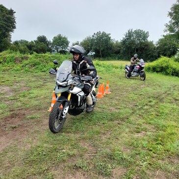 Stage de pilotage moto en région Haute-Normandie