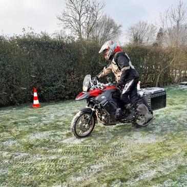 Stage de Pilotage Moto Trail près de Rouen en région Haute-Normandie