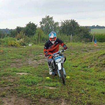 Initiation au Pilotage Moto Enfant près de Rouen