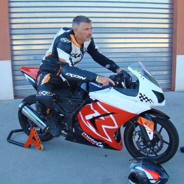 Stage de pilotage moto, département Hérault