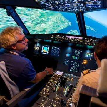 Simulateur de Vol en Avion de Ligne à Pau en région Aquitaine