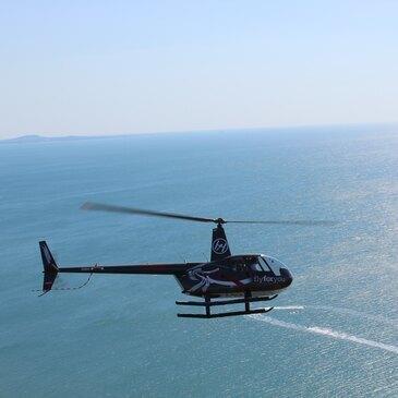 Baptême en Hélicoptère à Montpellier en région Languedoc-Roussillon
