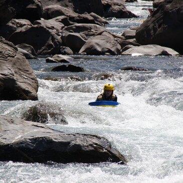 Nage en eaux vives en région PACA et Corse