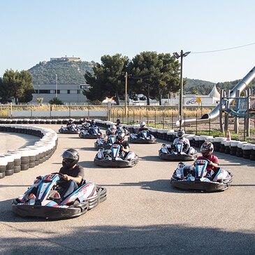 Karting, département Var