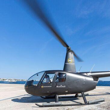 Baptême de l'air hélicoptère proche Hélistation de Cannes