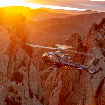 Baptême de l'air hélicoptère en région PACA et Corse
