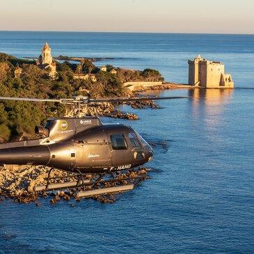 Baptême en hélicoptère à Cannes - Cap Esterel en région PACA et Corse