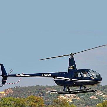 Réserver Baptême de l'air hélicoptère en PACA et Corse