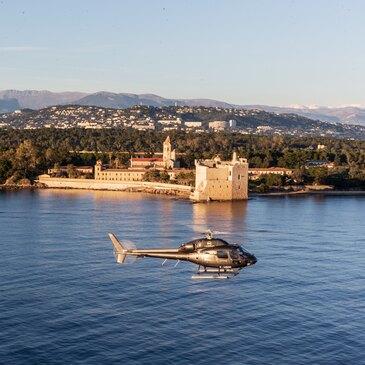 Baptême en Hélicoptère à Cannes - La Côte d'Azur