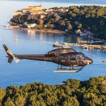 Réserver Baptême de l'air hélicoptère département Alpes Maritimes