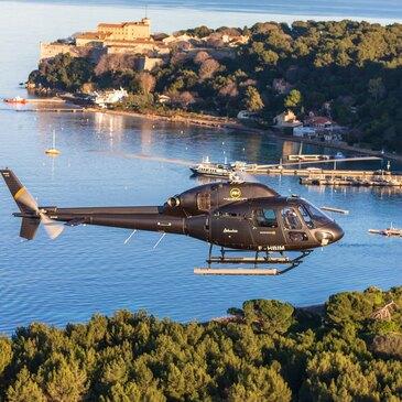 Baptême en hélicoptère de Cannes à Saint-Tropez