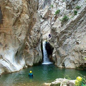 Canyoning, département Hautes Alpes