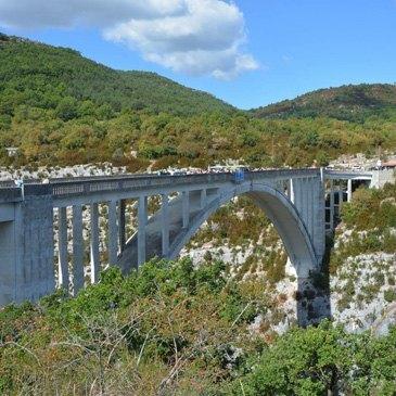 Pont de l'Artuby, Var (83) - Saut à l'élastique