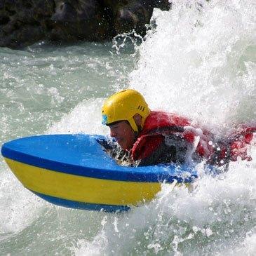 Nage en eaux vives, département Hautes Alpes