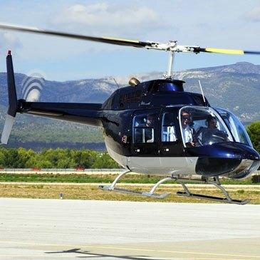 Baptême de l'air hélicoptère, département Var