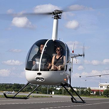 Baptême de l'air en hélicoptère (Yvelines)