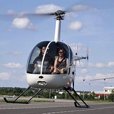 Baptême en Hélicoptère en Vallée de Chevreuse