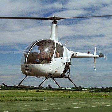 Baptême de l'air hélicoptère en région Ile-de-France