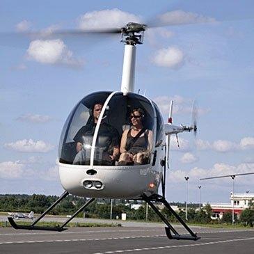 Vol d'initiation au pilotage en hélicoptère Versailles