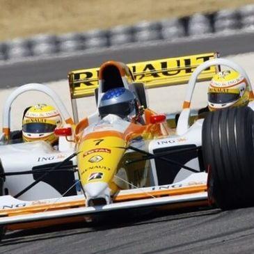 Baptême en Formule 1 en région Bourgogne