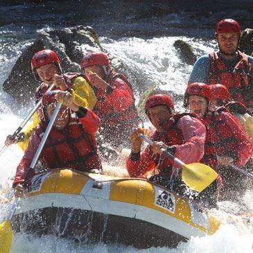 Rafting sur la Durance à Embrun