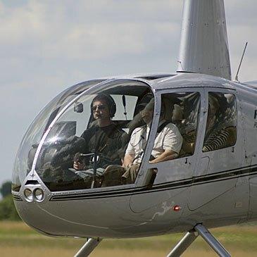 Stage initiation hélicoptère, département Seine maritime