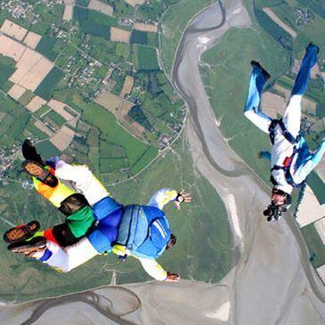 Saut parachute en tandem (Octeville le Havre)