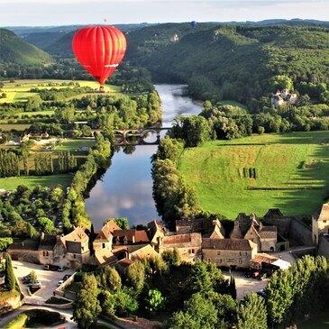 Vol montgolfière Chenonceau-Châteaux de la Loire