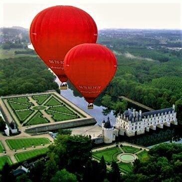 Chenonceaux, Indre et loire (37) - Baptême de l'air montgolfière