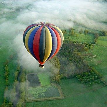Baptême de l'air montgolfière, département Côte d'or