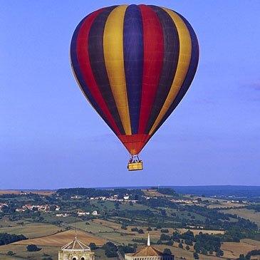 Vol Montgolfière en région Bourgogne