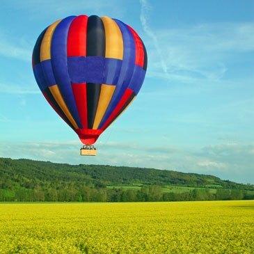Beaune, Côte d'or (21) - Baptême de l'air montgolfière