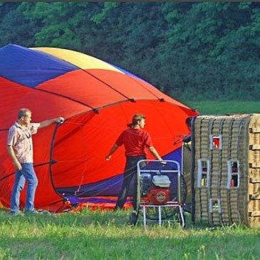 Baptême de l'air montgolfière proche Beaune